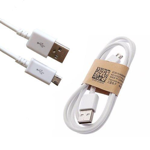 Cable Micro Usb V8 Samsung Cargador Datos Carga Rapida 1mt