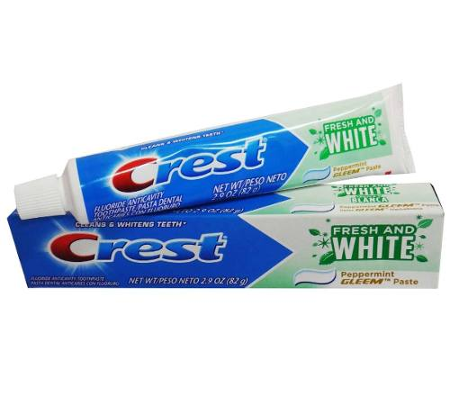 Crema Dental Crest Tubo 82gr Original Importada