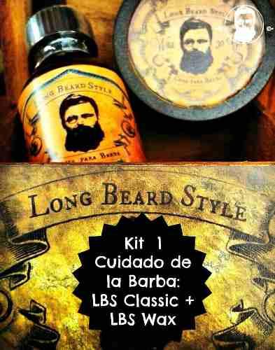 Kit 1 Cuidado De La Barba Lbs