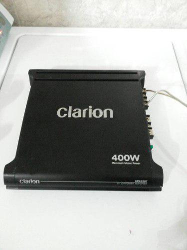 Planta Amplificador De Potencia Clarion De 400w 2/1 Canales