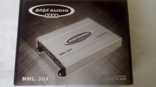 Planta Amplificador Saga Audio 2200 Watts Sop46