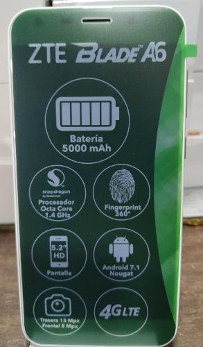 Telefono Celular Zte Blade A6, Somos Tienda Física