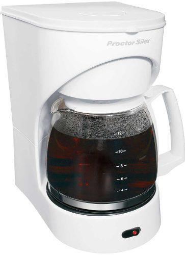 Cafetera Eléctrica Proctor Silex 12 Tazas Filtro Permanente