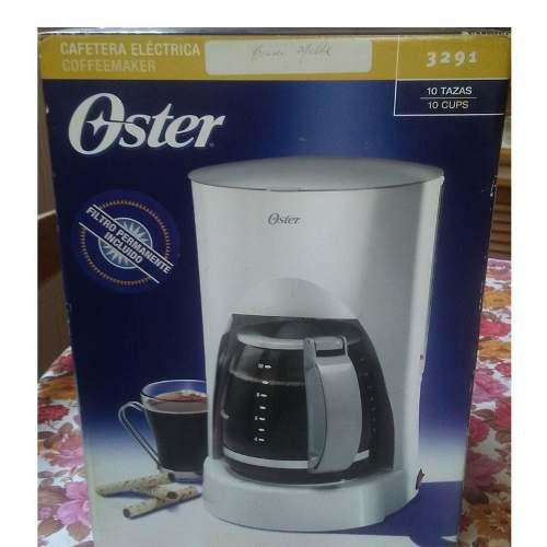 Cafetera Electrica Oster 3192 Oferta 35$ Nueva 10 Tazas