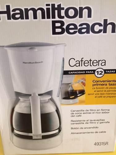 Cafetera Hamilton Beach 12 Tazas