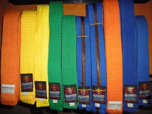 Cinturon Karate Do Bushido Y Macho