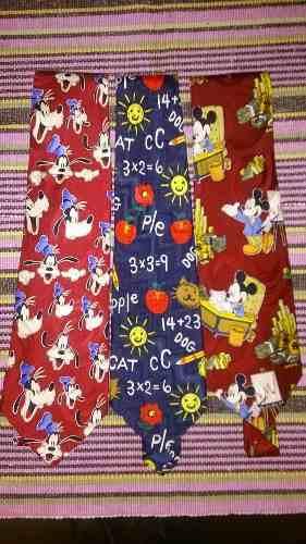 Corbata De Caballero De Seda Original Disney