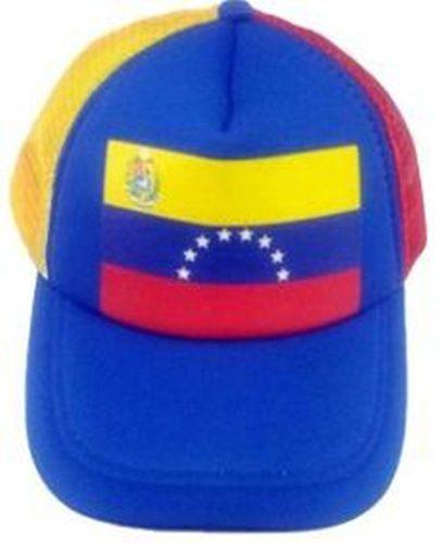 Gorra De Malla Tricolor (promoción Lote)