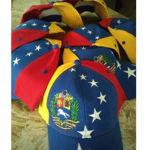 Gorras De Venezuela Tricolor 8 Estrellas