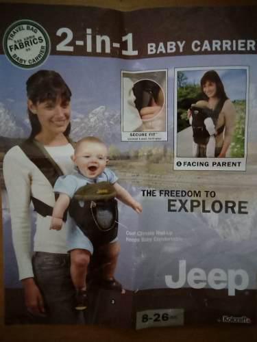 Koalas Para Bebés, Dos En Uno, Marca Jeep