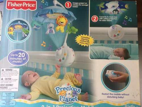 Movil Fisher Price 2 En 1 Proyector Para Bebe