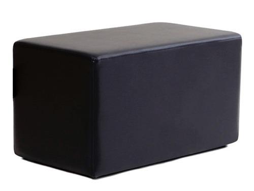 Muebles Puff Rectangular Juego Sala Comedor Modular Moderno