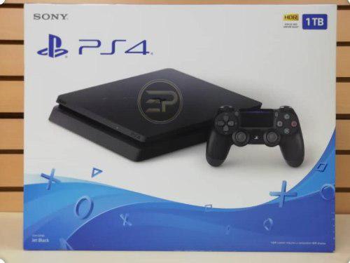 Playstation 4 Ps4 Slim 1 Tb Totalmente Nuevo En Caja Sellada