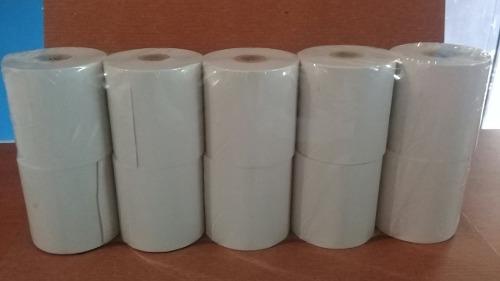 Rollos Térmicos 57x55mm Cajas Registradoras Puntos De Venta