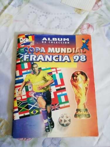 Albunm De Colección Copa Mundial Francia ,