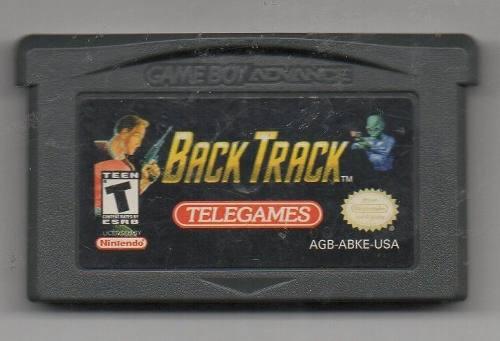 Back Track. Game Boy Advance. Juego Original Usado A4