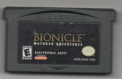 Bionicle Matoran Adventures.game Boy Advance.juego Original