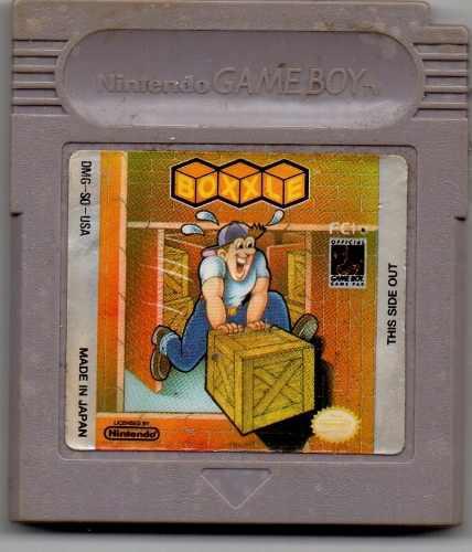 Boxxle. Game Boy Juego Original Usado A4