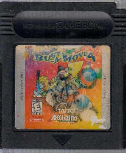 Bust-a-move 4 Video Juego De Game Boy