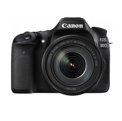 Cámara Digital Canon Eos 80d Lente mm 1 Año