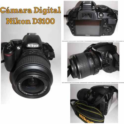 Cámara Digital Nikon D Con Lente Zoom Nikon  Mm