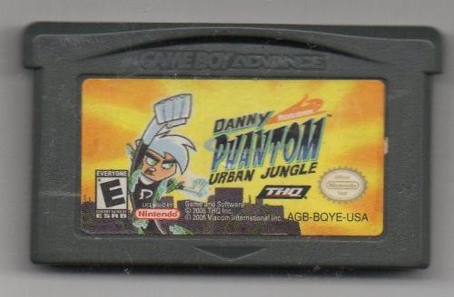 Danny Phantom Urban Jungle.game Boy Advance.juego Original U