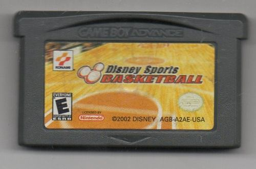 Disney Sports Basketball.game Boy Advance. Juego Original Us