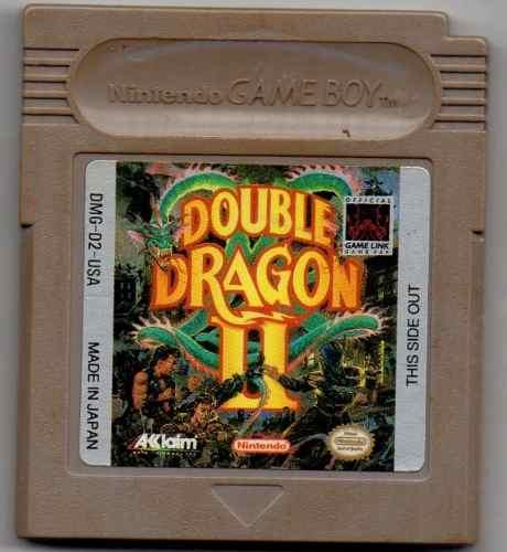 Double Dragon Ii Game Boy Juego Original Usado A4