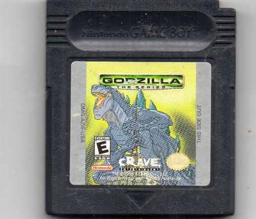 Godzilla: The Series. Game Boy Juego Original Usado A4