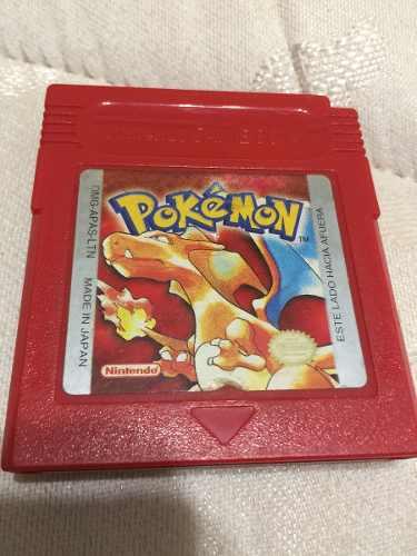 Juego Pokemon Original Game Boy