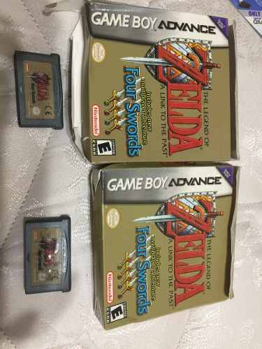 Juego Zelda Nintendo Game Boy Advance Four Swords