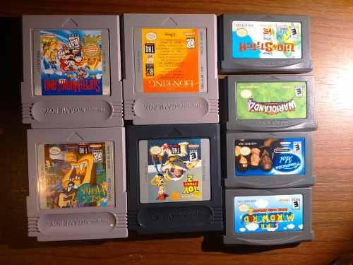 Juegos Game Boy Y Gb Advance Originales