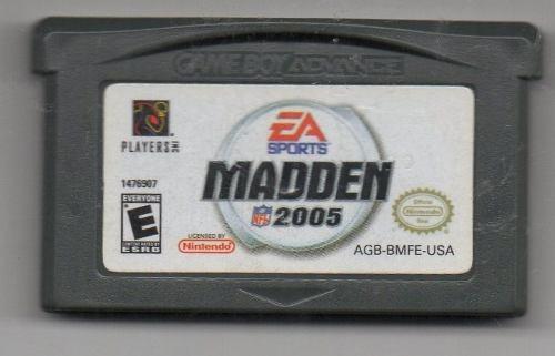 Madden . Game Boy Advance. Juego Original Usado A4