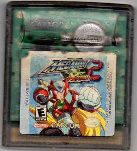 Mega Man Xtreme 2.game Boy Color.juego Original Usado A4