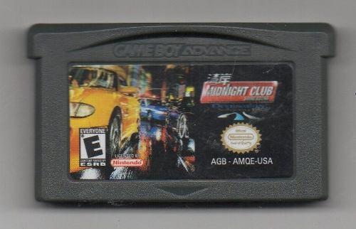 Midnight Club. Game Boy Advance. Juego Original Usado A4