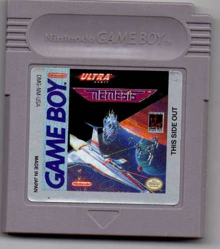 Nemesis. Game Boy. Juego Original Usado A4