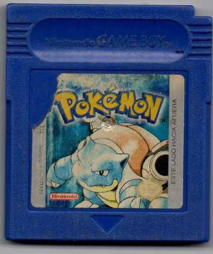 Pokémon Blue Version.video Juego Original Usado A4