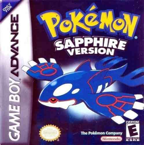 Pokémon Sapphire Juego De Gameboy Advance