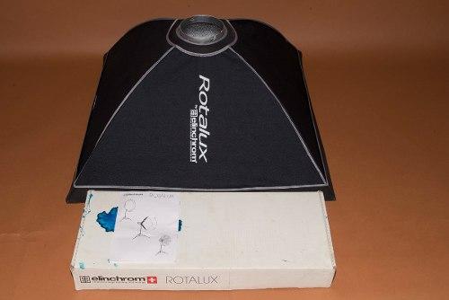Soft Box Elinchrom 70x70 Rotalux Poco Uso En Su Caja Origin