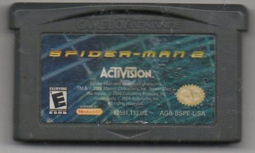 Spiderman 2. Game Boy Advance. Juego Original Usado A4