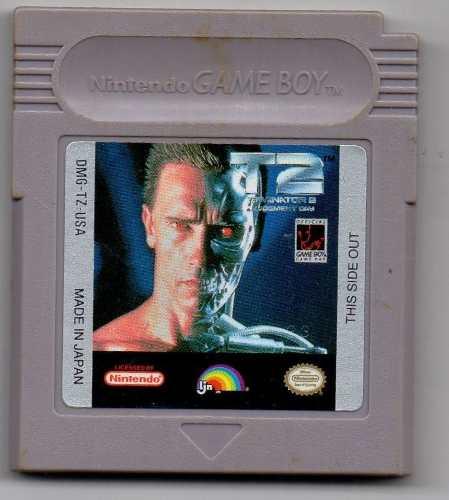 Terminator 2 Judgement Day.game Boy Juego Original Usado A4