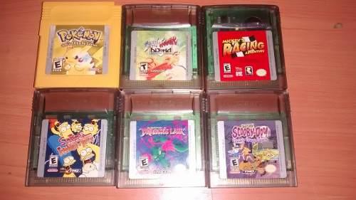 Vendo Juegos De Game Boy