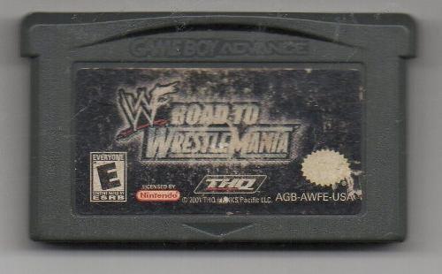 Wwe Road To Wrestlemania.game Boy Advance. Juego Original Us