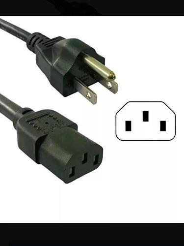 Cable De Alimentacion De Pc- Monitor
