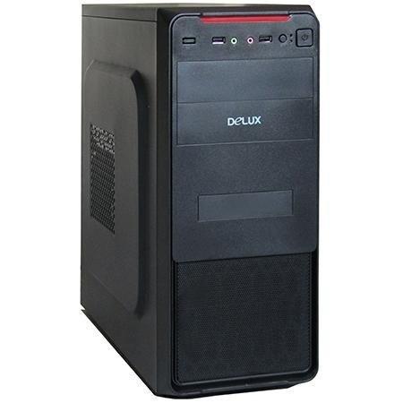 Case Para Pc Atx Delux Con Fuente De Poder 550w Mt377