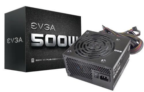 Fuente De Poder Evga 500w Certificada 80 Plus Bagc