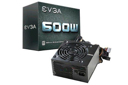 Fuente De Poder Evga 600w Certificada 80 Plus Bagc
