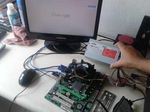 Fuente De Poder Pc Atx 600w Intel Amd 20+4 Pines Operativa