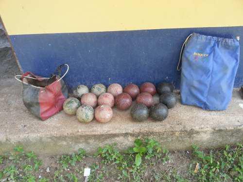 Juego De Bolas Criollas Profesional Con Estuche