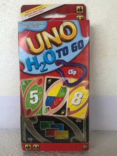 Juego De Cartas Uno H2o Mattel -leer Descripcion-